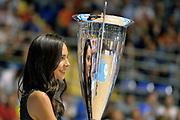 DESCRIZIONE : Supercoppa 2015 Finale EA7 Emporio Armani Milano - Grissin Bon Reggio Emilia<br /> GIOCATORE : madrina<br /> CATEGORIA : pregame before ritratto curiosita<br /> SQUADRA : <br /> EVENTO : Supercoppa 2015<br /> GARA : EA7 Emporio Armani Milano - Grissin Bon Reggio Emilia<br /> DATA : 27/09/2015<br /> SPORT : Pallacanestro <br /> AUTORE : Agenzia Ciamillo-Castoria/Max.Ceretti