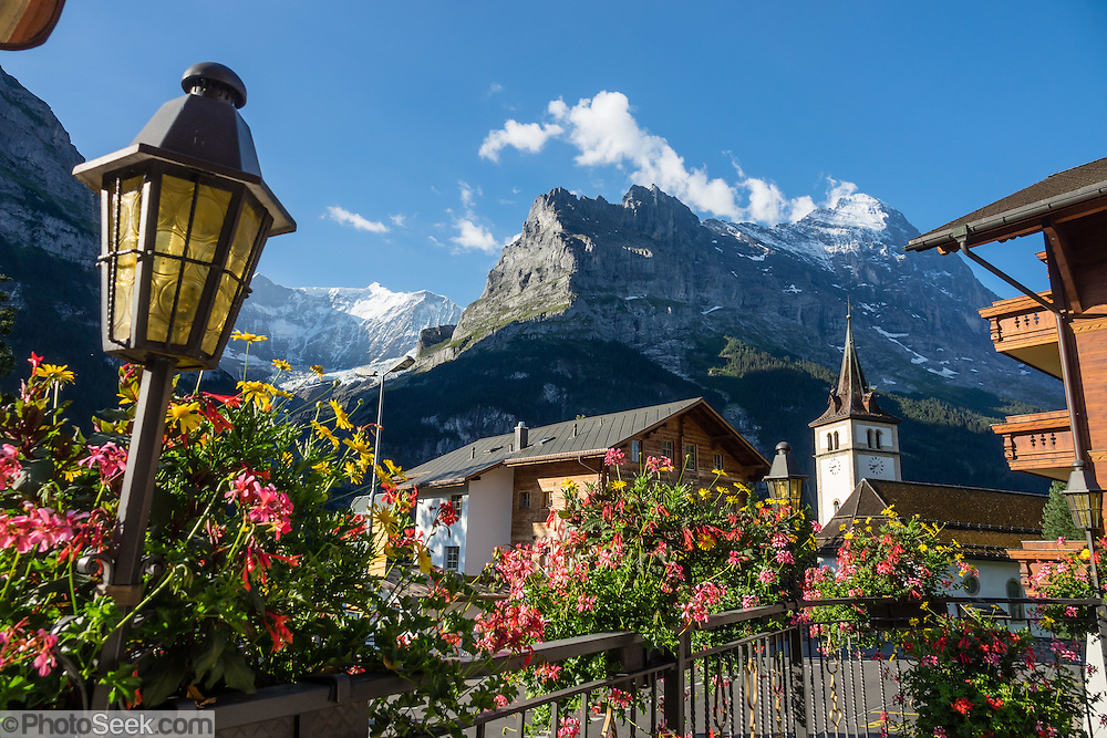 Hotel Gletschergarten, Grindelwald, Switzerland, the Alps, Europe.