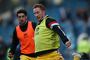 MK Dons defender Dean Lewington (3)  during the Sky Bet Championship match between Sheffield Wednesday and Milton Keynes Dons at Hillsborough, Sheffield, England on 19 April 2016. Photo by Simon Davies.