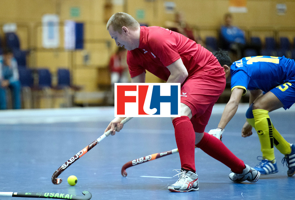 BERLIN - Indoor Hockey World Cup<br /> Kazakhstan - Poland<br /> foto: <br /> WORLDSPORTPICS COPYRIGHT FRANK UIJLENBROEK
