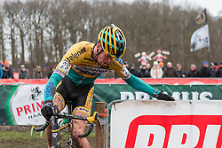 Niels Wubben (NED) of Telenet - Fidea Cycling Team, Men Elite, Cyclo-cross World Cup Hoogerheide, The Netherlands, 25 January 2015, Photo by Pim Nijland / PelotonPhotos.com
