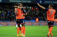 Joie Montpellier / Lucas BARRIOS  - 24.01.2015 - Montpellier / Nantes  - 22eme journee de Ligue1<br />