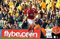 Photo: Ashley Pickering.<br /> Norwich City v Bristol City. Coca Cola Championship. 20/10/2007.<br /> Lee Trundle celebrates scoring the third for Bristol