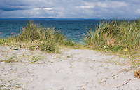 Sand dunnes at Inis Oirr the Aran Islands in Galway Ireland