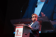 21st International AIDS Conference (AIDS 2016), Durban, South Africa. Photo shows: Ending AIDS with the Voices of Youth. Special Session. Speaker: Elton John.