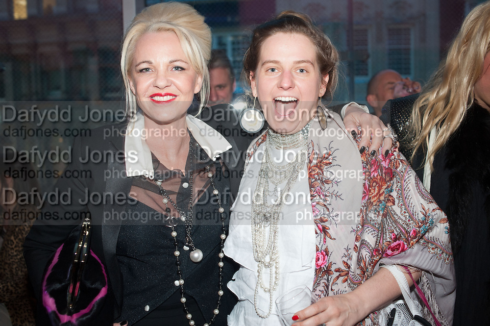 AMANDA ELIASCH; SVETLANA K-LIE, Liberatum Cultural Honour  for John Hurt, CBE in association with artist Svetlana K-Lié.  Spice Market, W London - Leicester Square