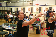 DARTS<br /> SINGLES<br /> Downer NZ Masters Games 2019<br /> 20190209<br /> WHANGANUI, NEW ZEALAND<br /> Photo RUSSELL	POTTS CMGSPORT<br /> WWW.CMGSPORT.CO.NZ