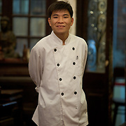 Chef at Chim Sao Restaurant, Hanoi