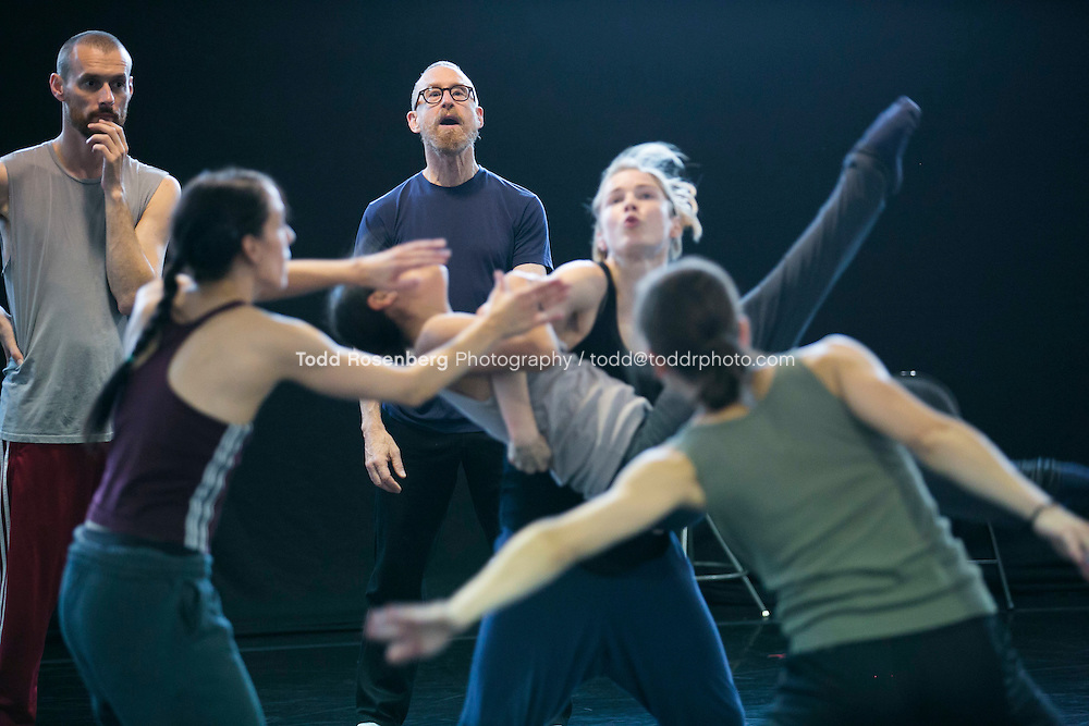 10/2/15 3:43:57 PM -- Hubbard Street Dance Chicago <br /> <br /> Choreographer William Forsythe in studio with the main company. <br /> <br /> . &copy; Todd Rosenberg Photography 2015