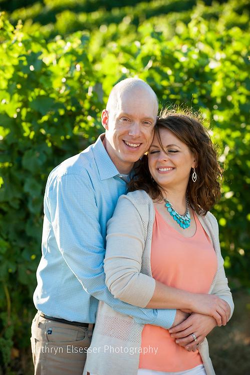 Romantic viineyard images at Carlton Cellars Vineyard