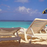 Beach Chairs in Anguilla, British West Indies