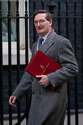 © Licensed to London News Pictures. 26/11/2013. London, UK. The Attorney General, Dominic Grieve, arrives for a meeting of British Prime Minister David Cameron's Cabinet on Downing Street in London today (26/11/2013). Photo credit: Matt Cetti-Roberts/LNP