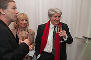 TOM CONTI, English National Ballet's celebrates their Christmas season at the London Coliseum,  St Martins Lane hotel. London. 13 December 2012.