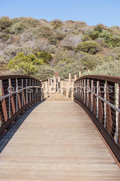 Pedestrian Bridge at Sea Summit Trail San Clemente