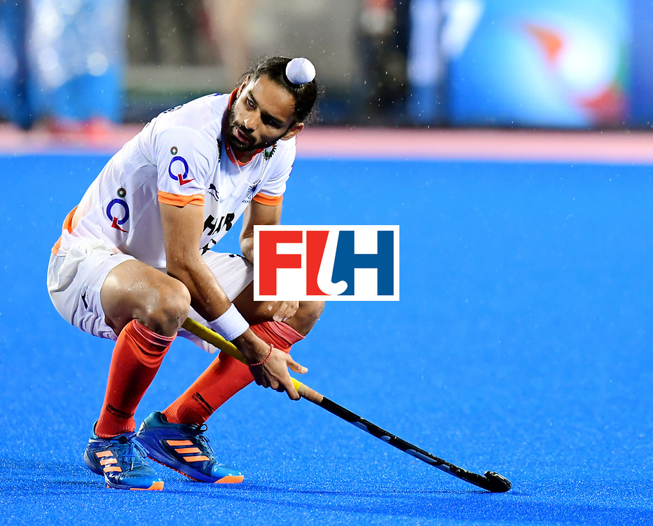 Odisha Men's Hockey World League Final Bhubaneswar 2017<br /> Match id:19<br /> India v Argentina<br /> Foto: Argentina wins the Semi Final From India.<br /> Akashdeep Singh (Ind) <br /> COPYRIGHT WORLDSPORTPICS FRANK UIJLENBROEK