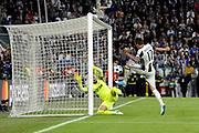 © Filippo Alfero<br /> Juventus-Monaco, Champions League 2016/2017<br /> Torino, 09/05/2017<br /> sport calcio<br /> Nella foto: Gol Mario Mandzukic Juventus, goal celebration