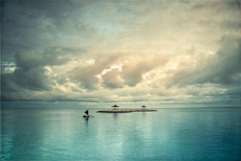 Serene scenery Bali / Indonesia