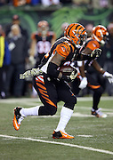 Cincinnati Bengals running back Jeremy Hill (32) runs for a first quarter first down during the NFL week 10 regular season football game against the Cleveland Browns on Thursday, Nov. 6, 2014 in Cincinnati. The Browns won the game 24-3. ©Paul Anthony Spinelli