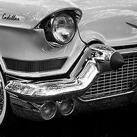 """1957 Cadillac """"Donna"""" black and white"""