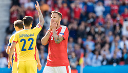 15.06.2016, Parc de Princes, Paris, FRA, UEFA Euro, Frankreich, Rumaenien vs Schweiz, Gruppe A, im Bild Haris Seferovic (SUI) // Haris Seferovic (SUI) during Group A match between Romania and Switzerland of the UEFA EURO 2016 France at the Parc de Princes in Paris, France on 2016/06/15. EXPA Pictures © 2016, PhotoCredit: EXPA/ JFK