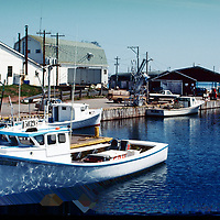 Imagery from Prince Edward Island, Canada. All images are scenes of slides taken in 1992.