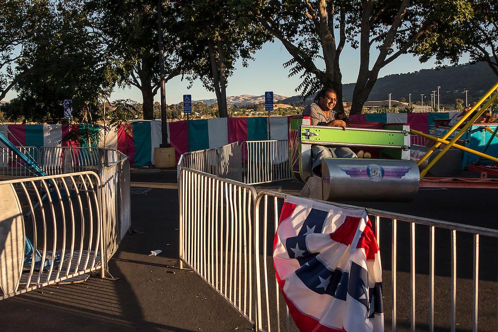 Pleasanton, California: At the Alameda County Fair.