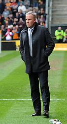 Wolves' Head Coach Kenny Jackett - Photo mandatory by-line: Paul Knight/JMP - Mobile: 07966 386802 - 02/05/2015 - SPORT - Football - Wolverhampton - Molineux Stadium - Wolverhampton Wanderers v Millwall - Sky Bet Championship