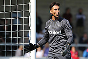 Derby County goalkeeper Kelle Roos during the Pre-Season Friendly match between Burton Albion and Derby County at the Pirelli Stadium, Burton upon Trent, England on 20 July 2019.