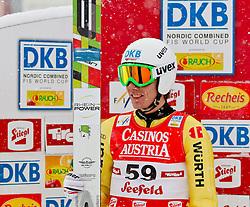 17.12.2011, Casino Arena, Seefeld, AUT, FIS Nordische Kombination, Ski Springen HS 109, im Bild Tino Edelmann (GER) // Tino Edelmann of Germany during Ski jumping at FIS Nordic Combined World Cup in Sefeld, Austria on 20111211. EXPA Pictures © 2011, PhotoCredit: EXPA/ P.Rinderer