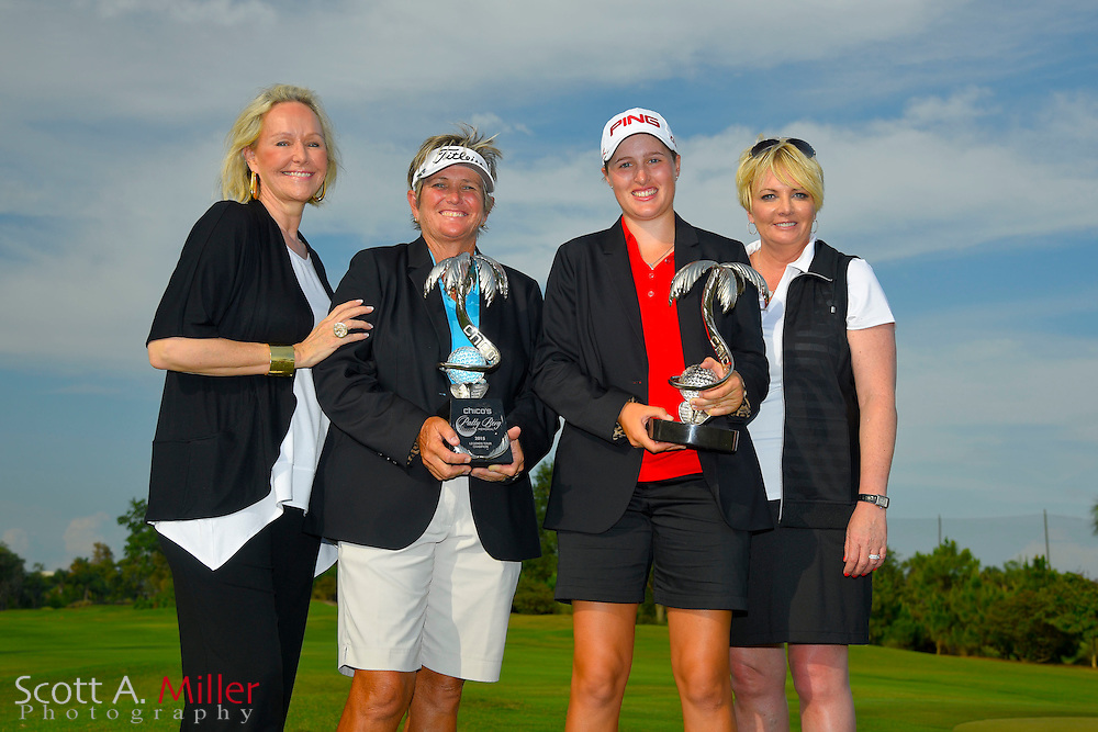 Augusta James after winning the Chico's Patty Berg Memorial on April 19, 2015 in Fort Myers, Florida. The tournament feature golfers from both the Symetra and Legends Tours.<br /> <br /> &copy;2015 Scott A. Miller