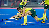 BHUBANESWAR (India) -  Hero Champions Trophy hockey men. Semifinal Germany vs Australia. Nicholas Budgeon of Australia.   Photo Koen Suyk