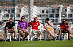 Bristol City fans watch the open training session - Mandatory by-line: Matt McNulty/JMP - 20/07/2017 - FOOTBALL - Tenerife Top Training Centre - Costa Adeje, Tenerife - Pre-Season Training