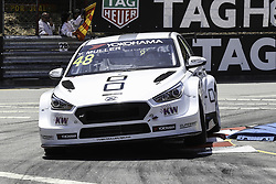 June 23, 2018 - Vila Real, Vila Real, Portugal - Yvan Muller from France in Hyundai i30 N TCR of YMR in action during the Race 1 of FIA WTCR 2018 World Touring Car Cup Race of Portugal, Vila Real, June 23, 2018. (Credit Image: © Dpi/NurPhoto via ZUMA Press)