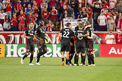 September 27, 2017 - Harrison, New Jersey, USA - HARRISON, New Jersey - Wednesday, September 27, 2017: The New York Red Bulls take on DC United at home at Red Bull Arena during the 2017 MLS regular season. (Credit Image: © Mike Lawrence/ISIPhotos via ZUMA Wire)
