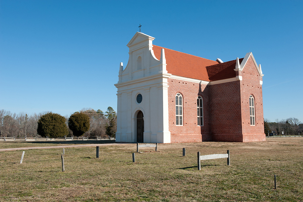 Historical church in St Mary's County, Maryland