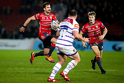 Danny Cipriani of Gloucester Rugby runs with the ball - Mandatory by-line: Robbie Stephenson/JMP - 16/11/2018 - RUGBY - Kingsholm - Gloucester, England - Gloucester Rugby v Leicester Tigers - Gallagher Premiership Rugby