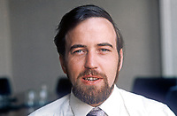 Terry Carlin, who succeeds Billy Blease, as N Ireland Officer, Irish Congress of Trade Unions, on 1st August 1975. 197507010527C<br />