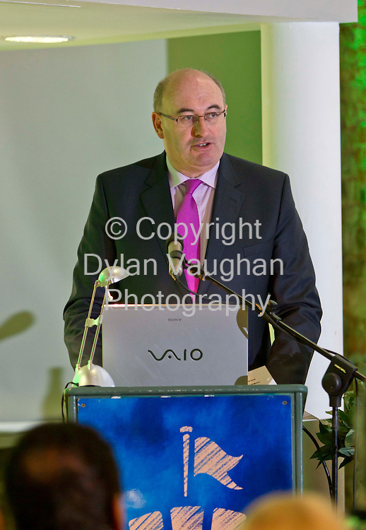 12/3/2012.no charge for repro.Pictured yesterday at the Parade Towers in Kilkenny at the Succeed in Ireland Initiative briefing to City and County Managers  which is managed by the IDA and promoted and delivered by ConnectIreland was the Minister for the Environment, Community and Local Government Mr. Phil Hogan T.D..Picture Dylan Vaughan.