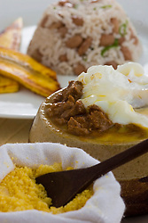 """Prato de picadinho no restaurante Tordesilhas, em Sao Paulo. / A dish of Brazilian Minced Meat at """"Tordesilhas"""", a brazilian restaurant in Sao Paulo"""