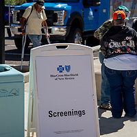 Free HIV/AIDS testing was given during the Gallup PRIDEfest Saturday at the McKinley County Courthouse Square for anyone wanting to get tested.