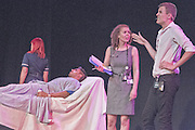 BSUH Comedy Revue - One flew over the Doctors Mess. Performed on Friday 7 June at The Old Market Theatre in Hove. Revue Directors - Lulu Rashid and Maissa Rosie.<br /> <br /> Cast: Rupy Aujila, Duane Cook, Pamela Dallyn, Belal El-Essawy, Rosalind Haire, Hugh Harvey, Holly Hayward, Matt Jarvis, Justin Kua, Sophie Lane, Salwa Malik, Mo Mahmud, Ellie Mason, Ed Noon, Farzad Saadat, Alex Teagle. Cameo performances by Steve Barden &amp; Tony Frew.<br /> <br /> The band; The Sliding Scales - Richard Mooney (acoustic guitar) Hugh Harvey (keyboard) Peter Van Den Bosch (drums) &amp; Rich Crawley (bass guitar)