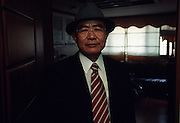 Kim Duk Hong, the highest known North Korean defector in a safehouse in Seoul.