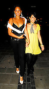 12.APRIL.2007. LONDON<br /> <br /> ALESHA DIXON LEAVING CRYSTEL NIGHT CLUB WITH A FRIEND AT 3.00AM AND SHOWING OFF HER CLEVAGE.<br /> <br /> BYLINE: EDBIMAGEARCHIVE.CO.UK<br /> <br /> *THIS IMAGE IS STRICTLY FOR UK NEWSPAPERS AND MAGAZINES ONLY*<br /> *FOR WORLD WIDE SALES AND WEB USE PLEASE CONTACT EDBIMAGEARCHIVE - 0208 954 5968*