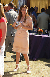 HRH PRINCESS BEATRICE OF YORK at the Veuve Clicquot sponsored Gold Cup Final or the British Open Polo Championship held at Cowdray Park, West Sussex on 17th July 2005.<br />