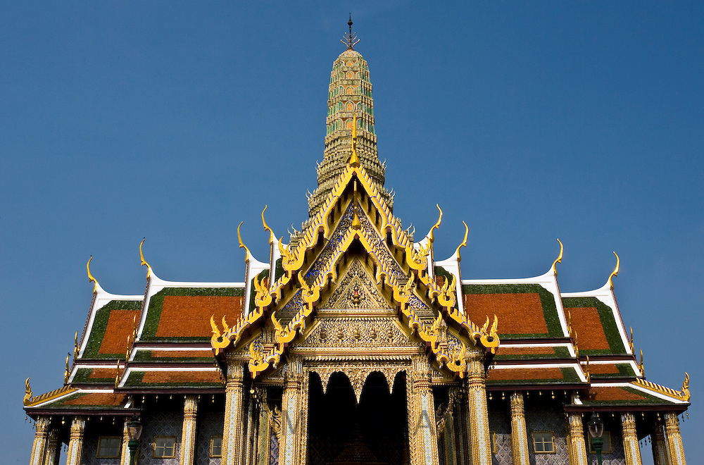 The Grand Palace and Temple complex, Bangkok, Thailand RESERVED USE - NOT FOR DOWNLOAD -  FOR USE CONTACT TIM GRAHAM