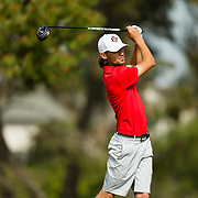 12 March 2018: San Diego State men's golf team co-hosts the 11th annual Lamkin San Diego Classic held at the San Diego Country Club in Chula Vista, California.<br /> More game action at www.sdsuaztecphotos.com