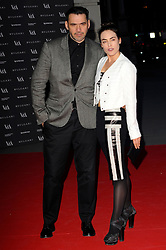 Tallulah Harlech and Roland Mouret attends the preview of The Glamour of Italian Fashion exhibition at Victoria & Albert Museum, London, United Kingdom. Tuesday, 1st April 2014. Picture by Chris Joseph / i-Images