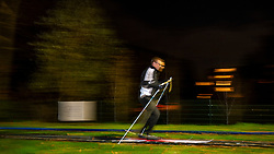23-11-2018 NED: Training BvdGF Vasaloppet 2019, Gouda<br /> Training on cross-country skiing course in Gouda and Back on Track evening for the people that doing the Vasaloppet with the BvdGF. Vasaloppet is an annual long distance cross-country ski race held on the first Sunday of March. The 90 km (56 mi) course starts in the village of S&auml;len and ends in the town of Mora in northwestern Dalarna, Sweden. It is the oldest cross-country ski race in the world, as well as the one with the highest number of participants.