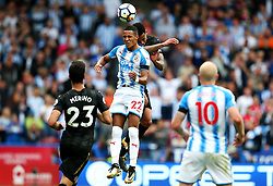 Huddersfield Town's Tom Ince challenges Newcastle United's Jacob Murphy - Mandatory by-line: Matt McNulty/JMP - 20/08/2017 - FOOTBALL - John Smith's Stadium - Huddesfield, England - Huddersfield Town v Newcastle United - Premier League