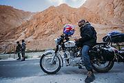 Biking in Ladakh, India